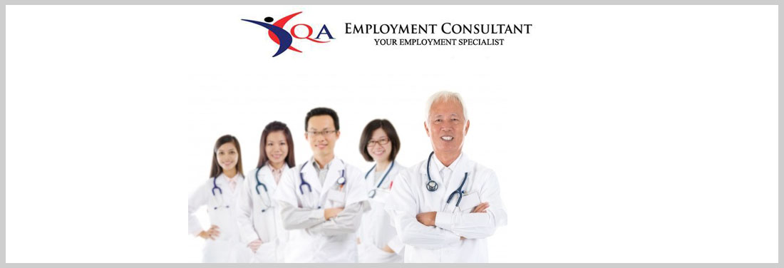 Clinical Research Assistant | QA EMPLOYMENT CONSULTANT PTE LTD